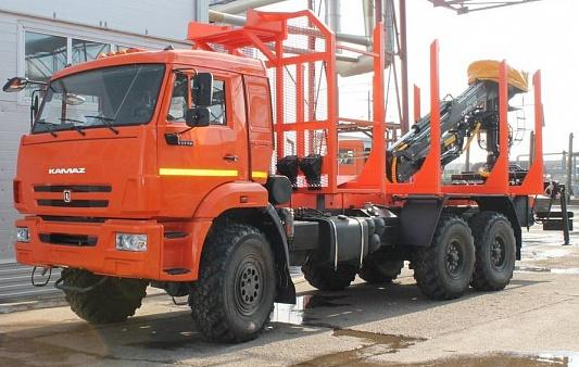 Лесовозы КАМАЗ - спецавтотехника российского производства